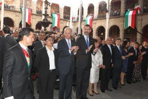 Prince Felipe with U.S. Vice President Joe Biden. © Casa de S.M. el Rey / Borja Fotógrafos