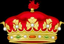Heraldic crown of Spanish Grandees.