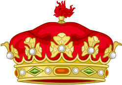 Heraldic crown of Spanish Grandees.
