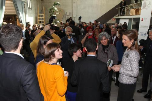 Infanta Elena hands out awards to youth leaders this week. © Casa de S.M. el Rey / Borja Fotógrafos