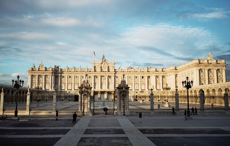 Madrid Royal Palace.