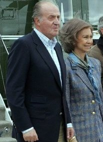 King Juan Carlos, Queen Sofia.