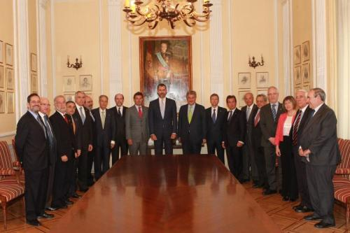 Prince Felipe, during a recent summit of engineers, called on the profession to help promote economic growth.