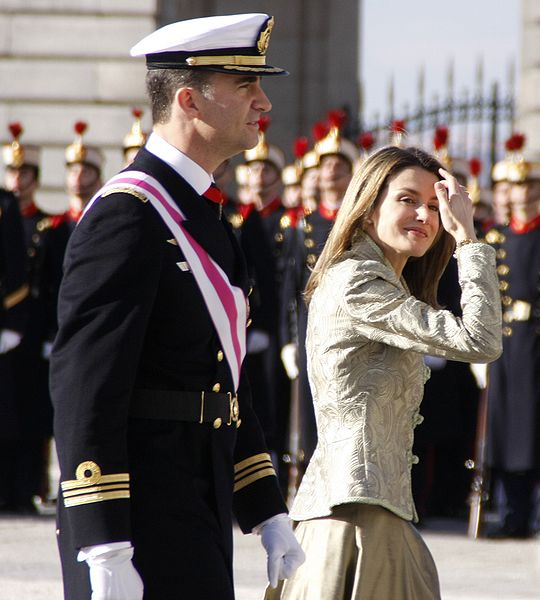 Spain's future King and Queen.