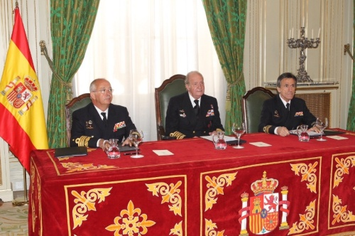 King Juan Carlos at Spanish Armada headquarters. © Casa de S.M. el Rey