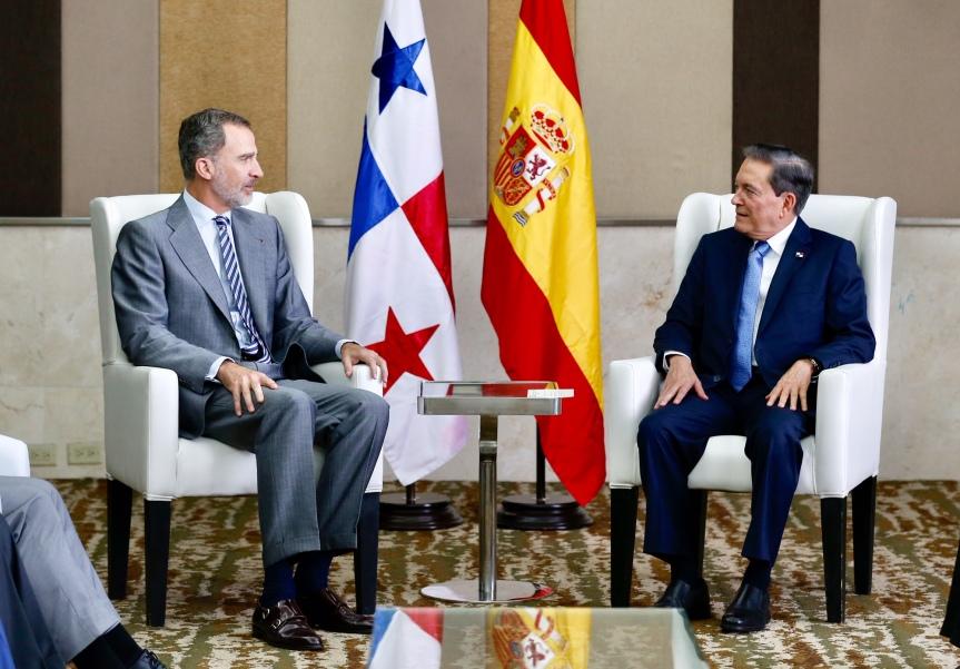 Rey_encuentro_Presidente electo Panamá_Cortizo_20190630_14